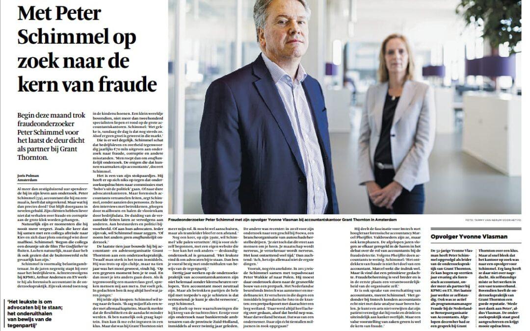 Met Peter Schimmel op zoek naar de kern van fraude